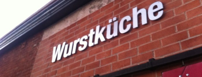 Wurstküche is one of Vegetarian Hot Dogs and Sausages.