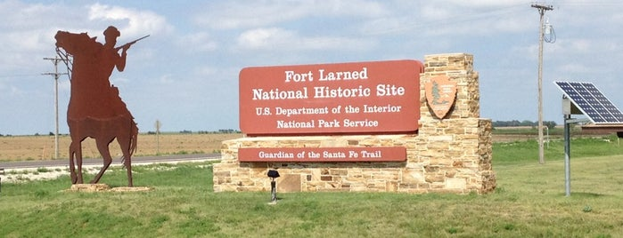Fort Larned National Historic Site is one of National Parks.