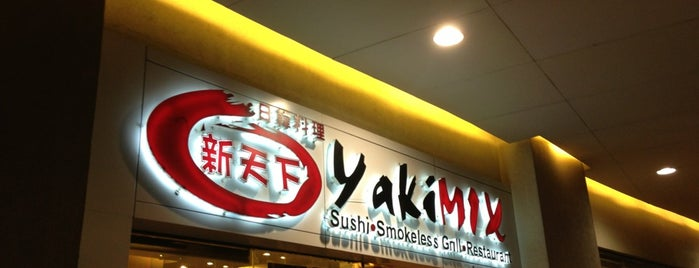 YakiMix Sushi & Smokeless Grill is one of Fave Japanese Places.