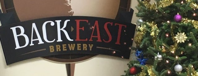 Back East Brewery is one of New England Breweries.