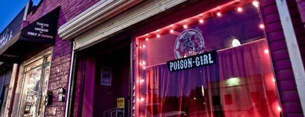 Poison Girl is one of drink here.