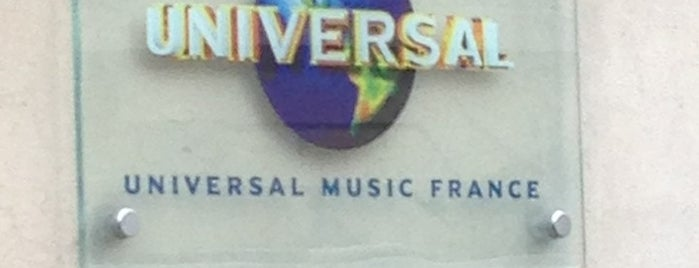 Universal Music France is one of Bureaux à Paris.