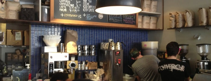 Third Rail Coffee is one of Manhattan Coffee Shops Worth a Vist.