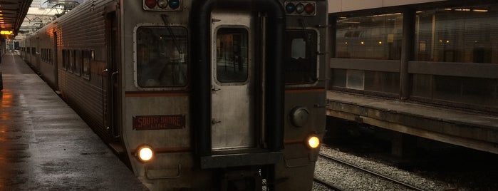 Southshore Train is one of Chicago.