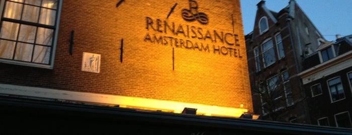Renaissance Amsterdam Hotel is one of Ren.