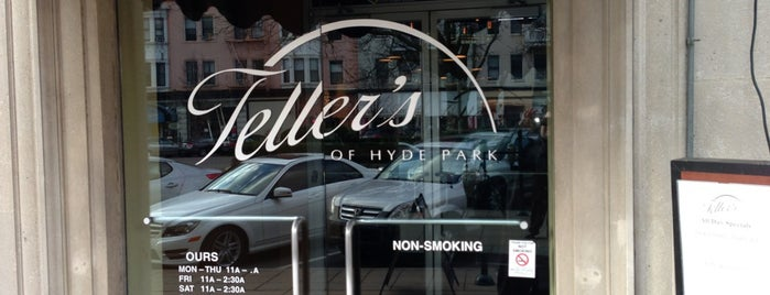 Teller's of Hyde Park is one of New Places To Try.
