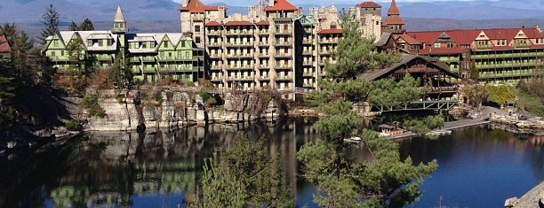 Mohonk Mountain House is one of Weekend to do's.