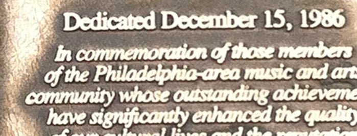 Walk of Fame is one of Public Art in Philadelphia (Volume 3).