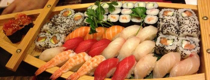 Konnichiwa is one of Sushi Love.