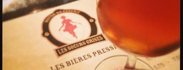 Bistro-Brasserie Les Soeurs Grises is one of Prendre un verre c'est agréable!.