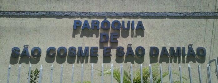Igreja Matriz São Cosme e São Damião is one of Ruas e Cidades.