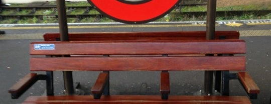 Acton Town London Underground Station is one of Tube Challenge.