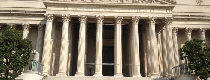 National Archives and Records Administration is one of The Arts in DC.