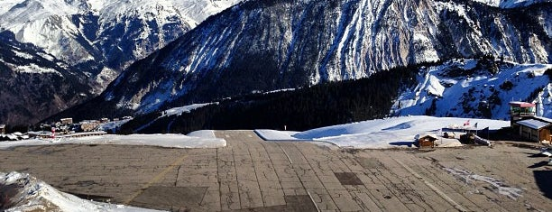 Courchevel Airport (CVF) is one of World's Most Thrilling Airports.