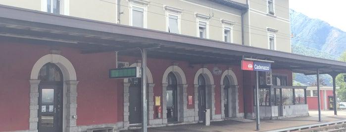 Cadenazzo FFS is one of Bahnhöfe Top 200 Schweiz.