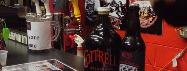 Cottrell Brewing Company is one of New England Breweries.