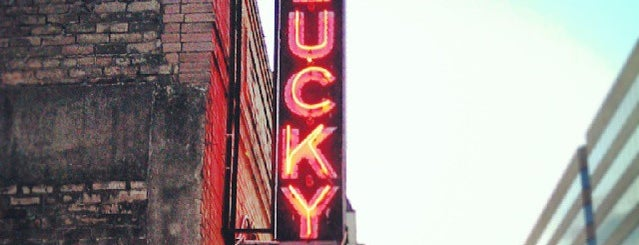 Lucky Lounge is one of Clubs, Pubs & Nightlife in ATX.