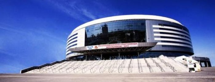 Минск-Арена / Minsk-Arena is one of JYM Hockey Arenas TOP100.