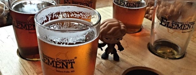 Element Brewing Company is one of New England Breweries.