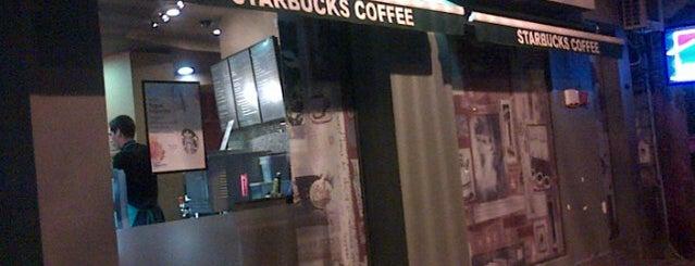 Starbucks is one of coffee houses.