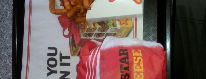 Carl's Jr is one of want to try.