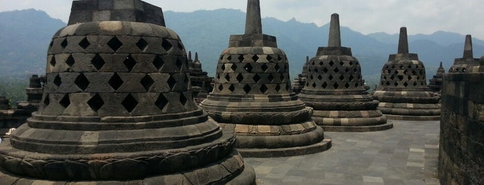 Borobudur Temple is one of YOGYAKARTA.