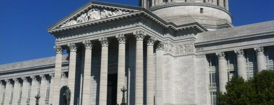 Missouri State Capitol is one of The Crowe Footsteps.