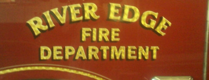 River Edge Fire Co #1 is one of Lunchtime for Nancy &Tommy at Kraus's Apt.