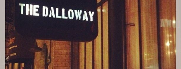 The Dalloway is one of NYC Restaurants: To Go Pt. 2.