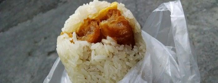 青島飯糰 is one of Yummy Food @ Taiwan.