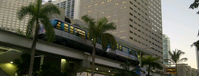 MDT Metromover - Bayfront Park Station is one of My favorite places :).