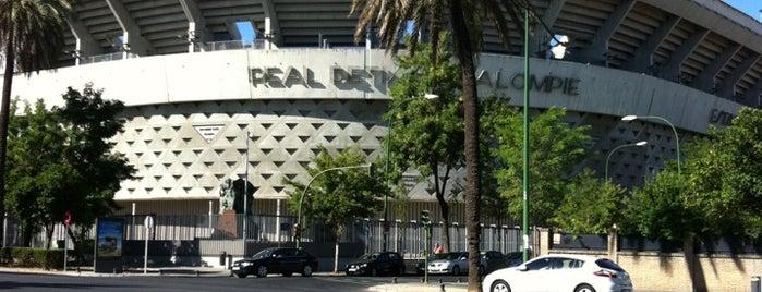 Benito Villamarín Stadium is one of Stadiums.