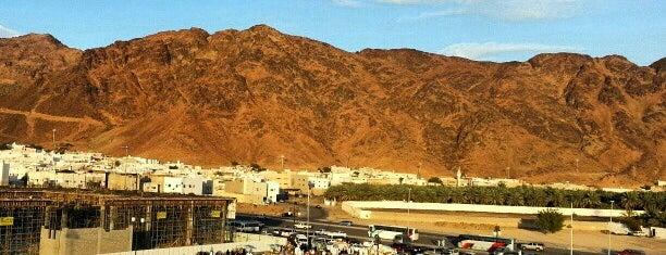 Jabal Uhud is one of Madinah.