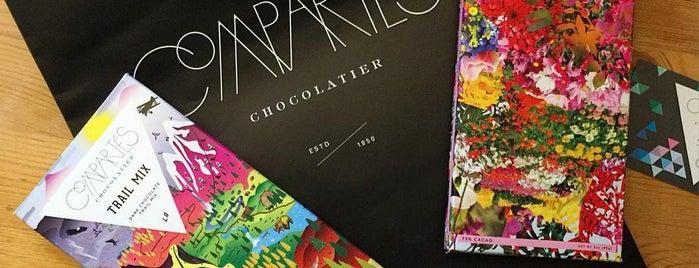 Compartes Chocolatier is one of Delicious favorites in Los Angeles.