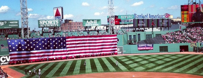Fenway Park is one of Major League Ballparks.