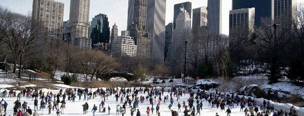 Wollman Ice Skating Rink is one of Dates <3.