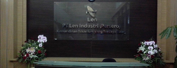 PT. LEN Industri (Persero) is one of on job.
