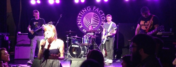 The Knitting Factory is one of My favorite NYC spots.