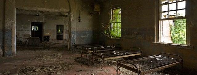 Hart Island is one of Abandoned NYC.