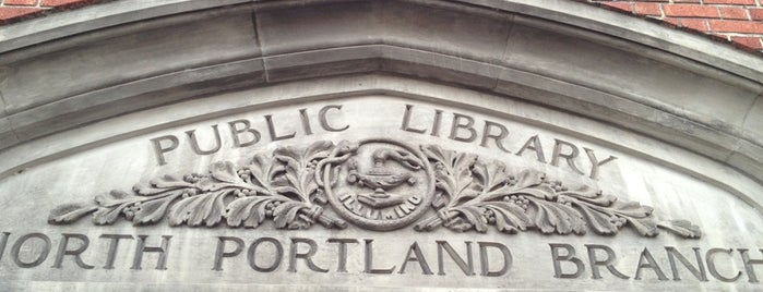 Multnomah County Library - North Portland is one of Multnomah County Libraries.
