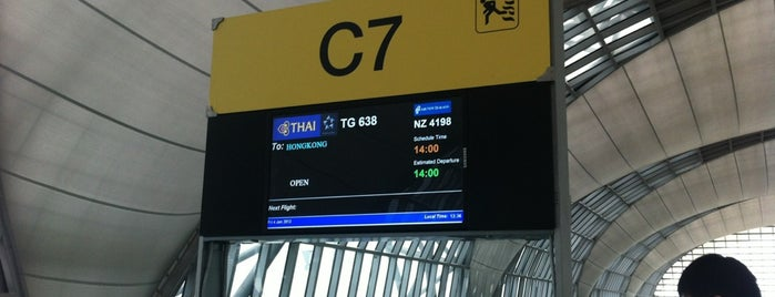 Gate C7 is one of TH-Airport-BKK-1.