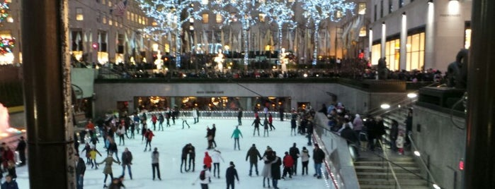 The Rink at Rockefeller Center is one of NYC Stay-cation.