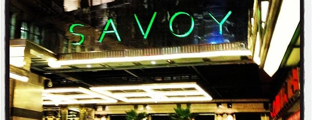 The Savoy Hotel is one of London City Badge - London Calling.