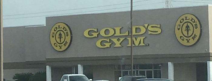 Gold's Gym is one of All 20 Gold's Gyms in San Antonio.