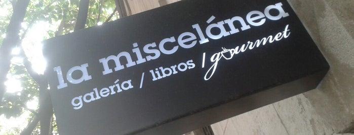 La Miscelánea is one of Lo que no me puede faltar antes de morir.