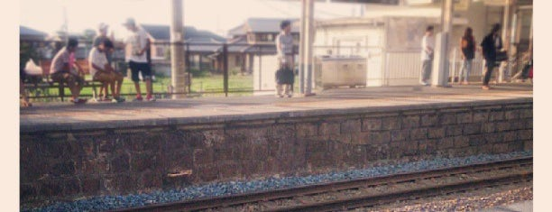 久米田駅 (Kumeda Sta.) is one of 阪和線.