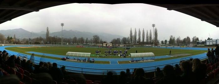Lachen Stadion is one of Fussballstadien Schweiz.