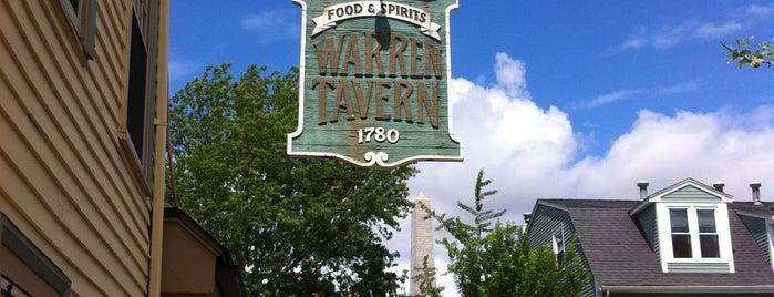 Warren Tavern is one of Best Bars in the U.S..