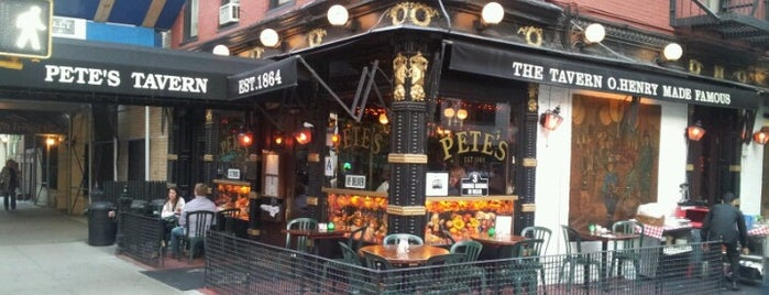 Pete's Tavern is one of NY Eats.