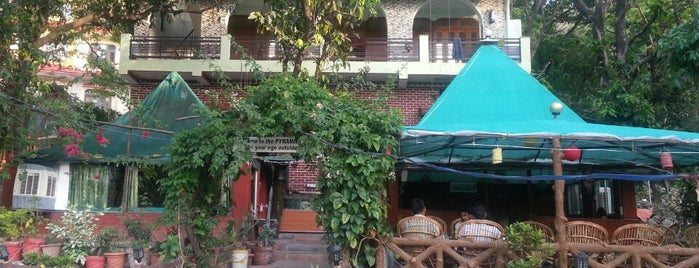 Pyramid Cafe is one of India places to visit.